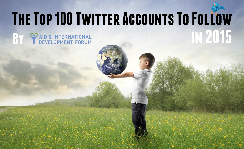 AIDF Name Top 100 Twitter Accounts in Humanitarian Aid & Development