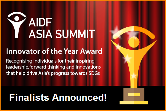 Finalists announced for AIDF Asia Innovator of the Year Award