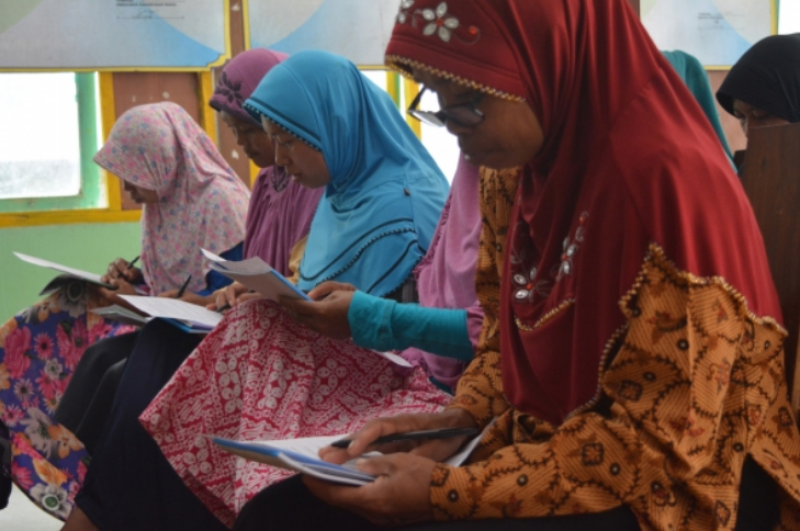 Women are leading disaster resilience in Indonesia