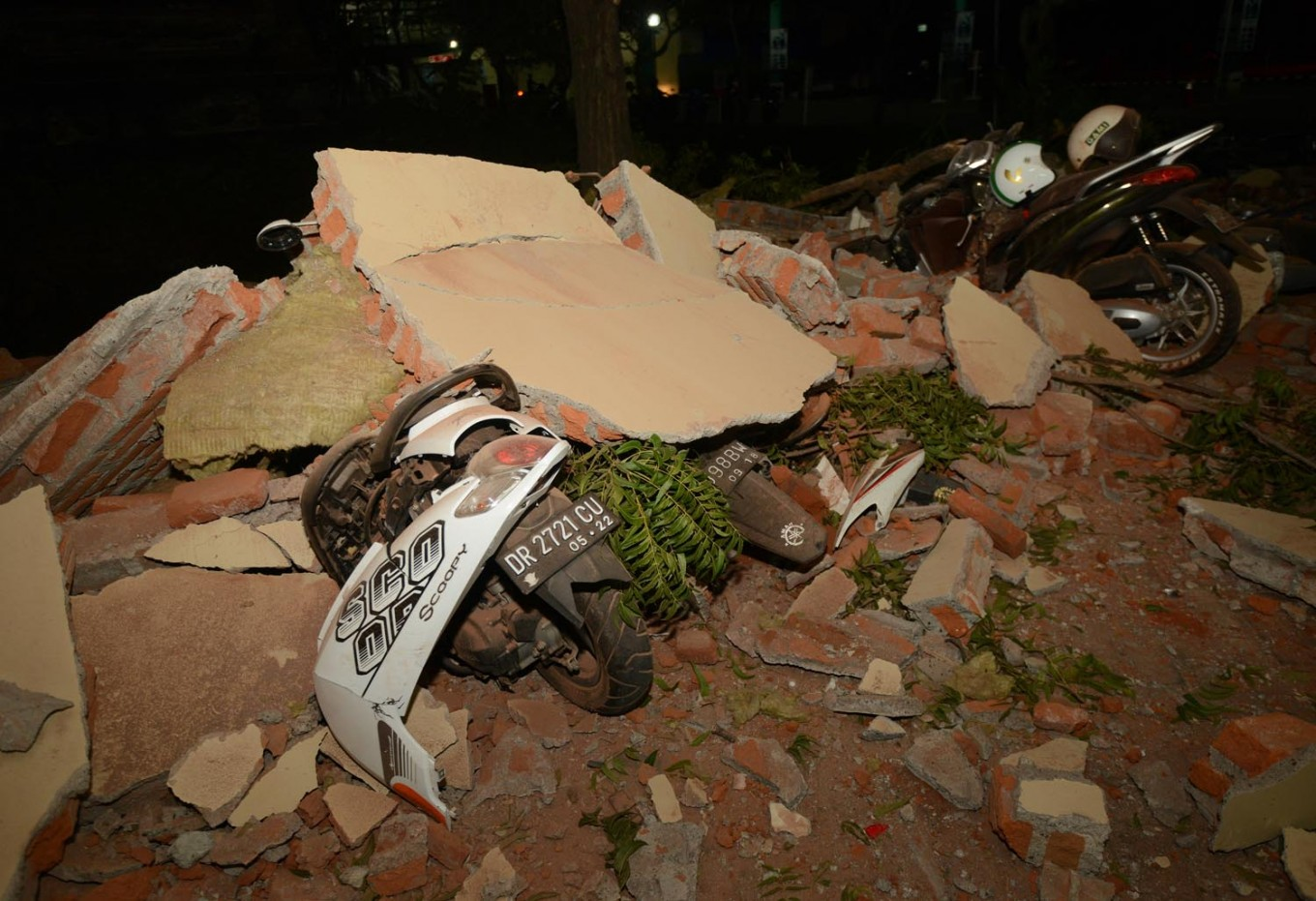 600,000 effected by Lombok earthquake