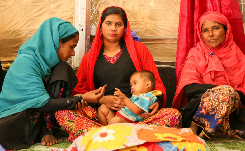 Fears that IOM's health services in Cox's Bazar could be cut due to funding shortfalls