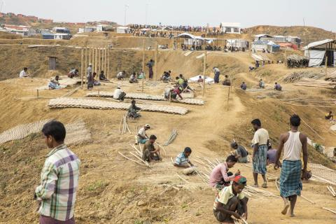 IOM has successfully relocated 12,000 Rohingya refugees ahead of monsoon season