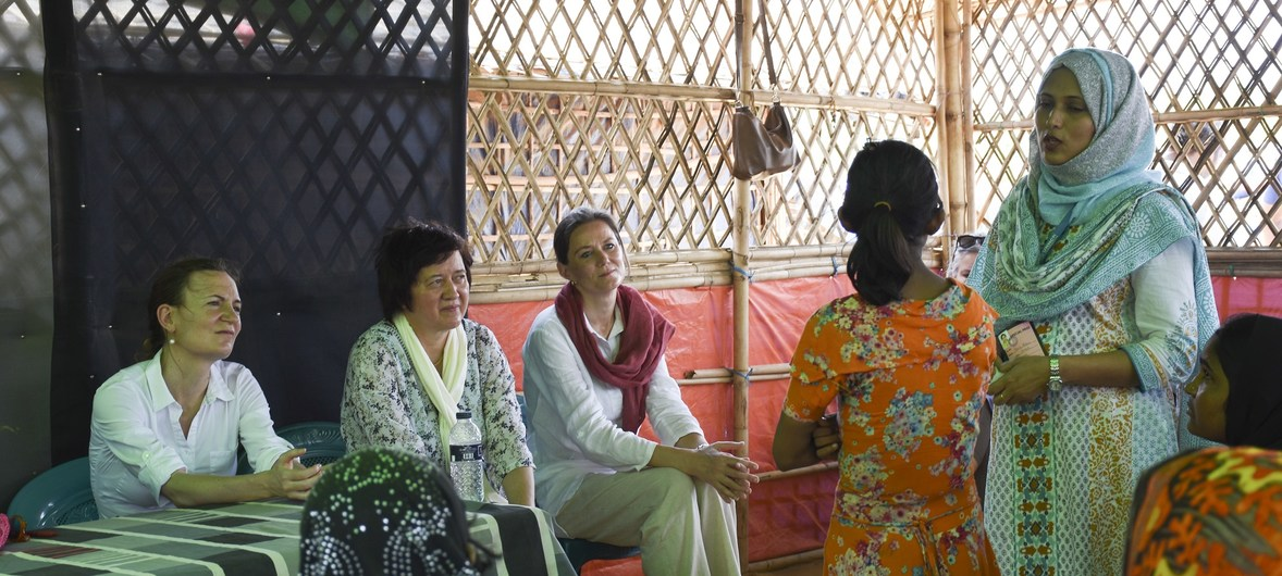 Significant improvements to living conditions were showed in Myanmar