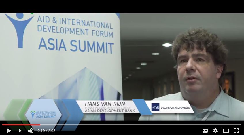 Interview with Hans van Rijn, Asian Development Bank