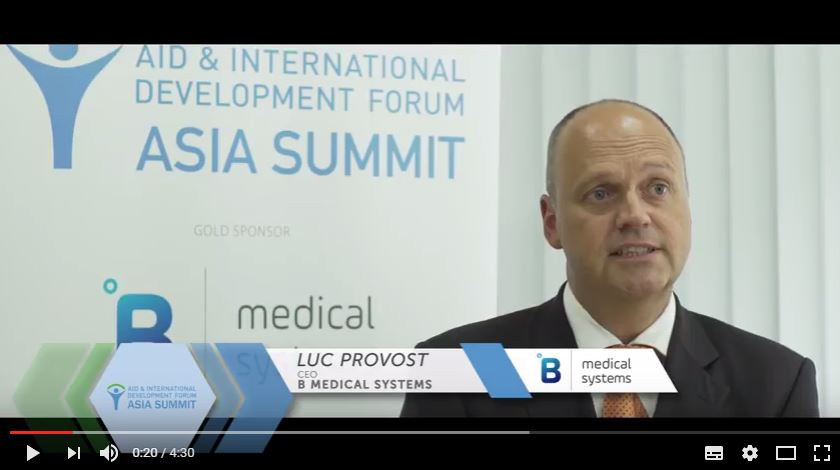 Interview with Luc Provost, B Medical Systems