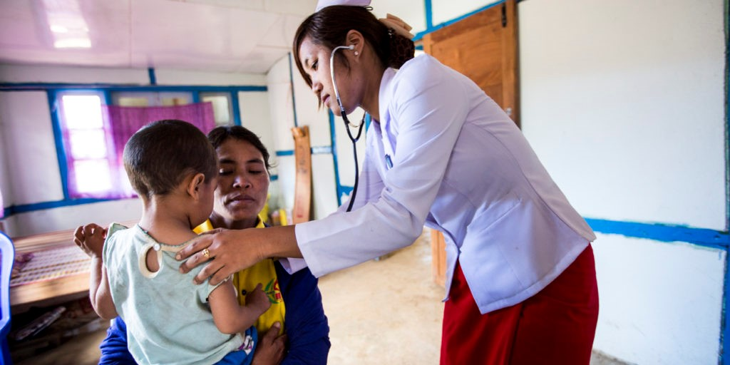 Four countries pledge more than $215 million to strengthen healthcare systems in Myanmar