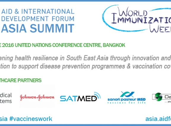World Immunization Week - strengthening health resilience in South East Asia